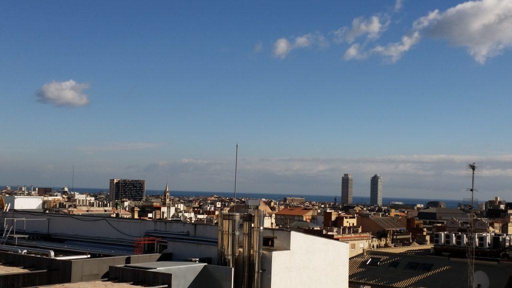 Barcelonas Sky Line