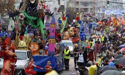 Parade of El carnaval de Cadiz