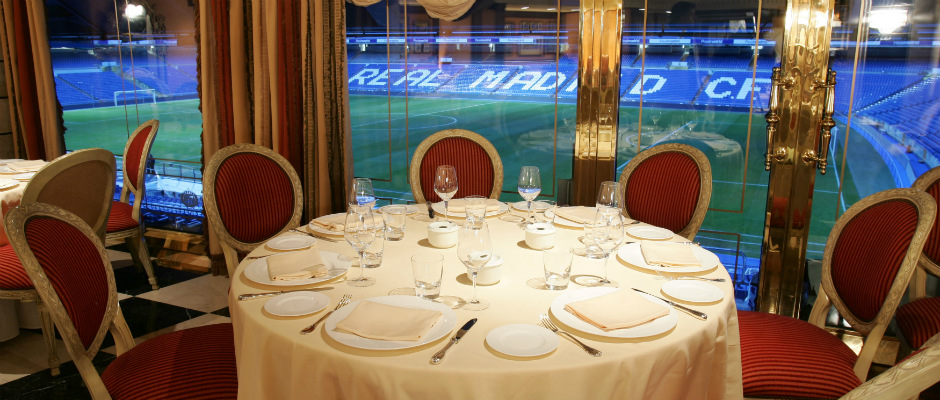 Restaurant at Madrids Stadium