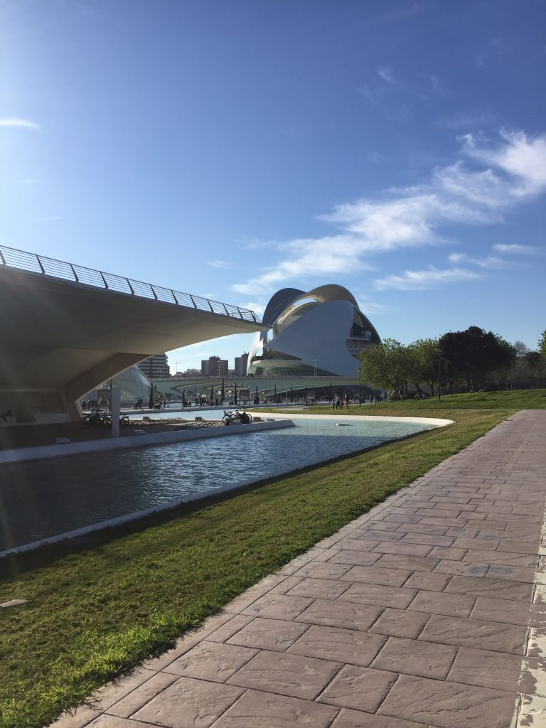 Valencias city of arts and science