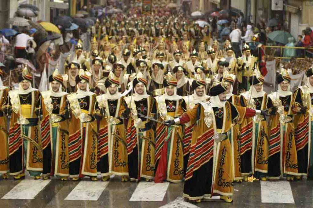 Moros y Cristianos A Spanish tradition